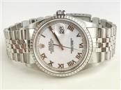 ROLEX Gent's Wristwatch 16220 STAINLESS OYSTER PERPETUAL DATEJUST
